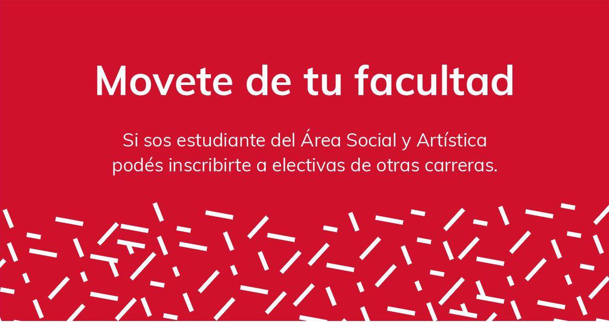 Banner web con texto Movete de tu facultad