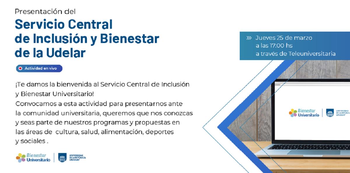 El Servicio Central de Inclusión y Bienestar Universitario se presenta ante la comunidad